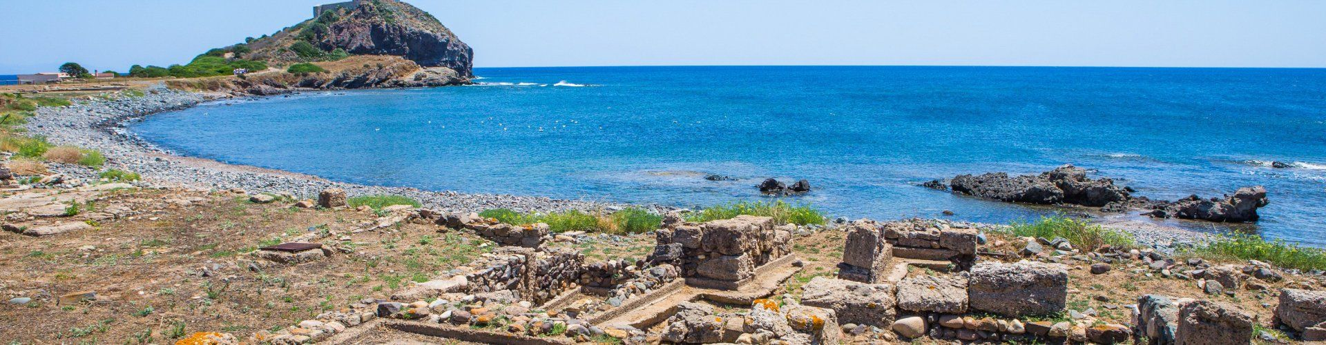 Roman excavation in Nora, only 3 km. away