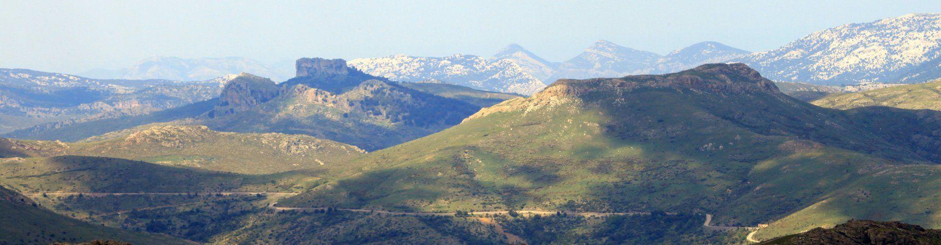 Barbagia, Monti del Gennargentu