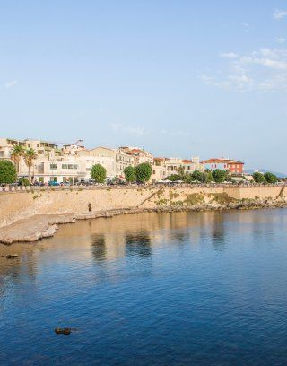 Alghero in the Northwest of Sardinia