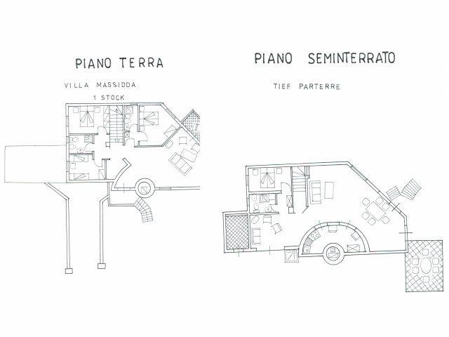 Floorplan Villa Massidda