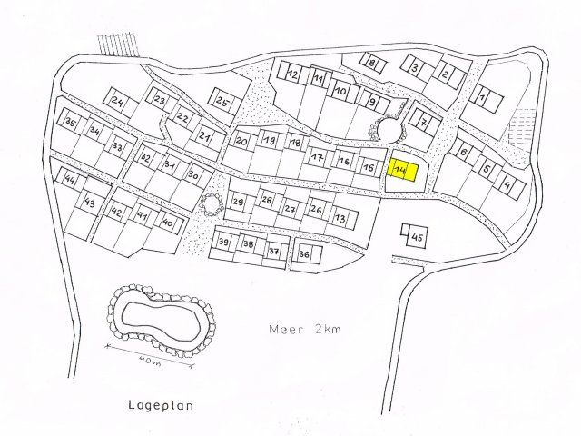 Map of the village