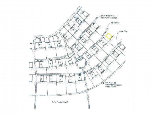 Location plan Condominium Sant'Elmo