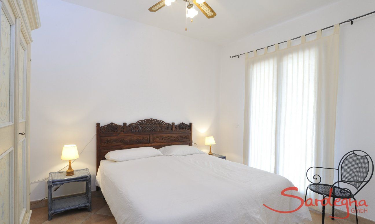 Bedroom 2 with double sized bed