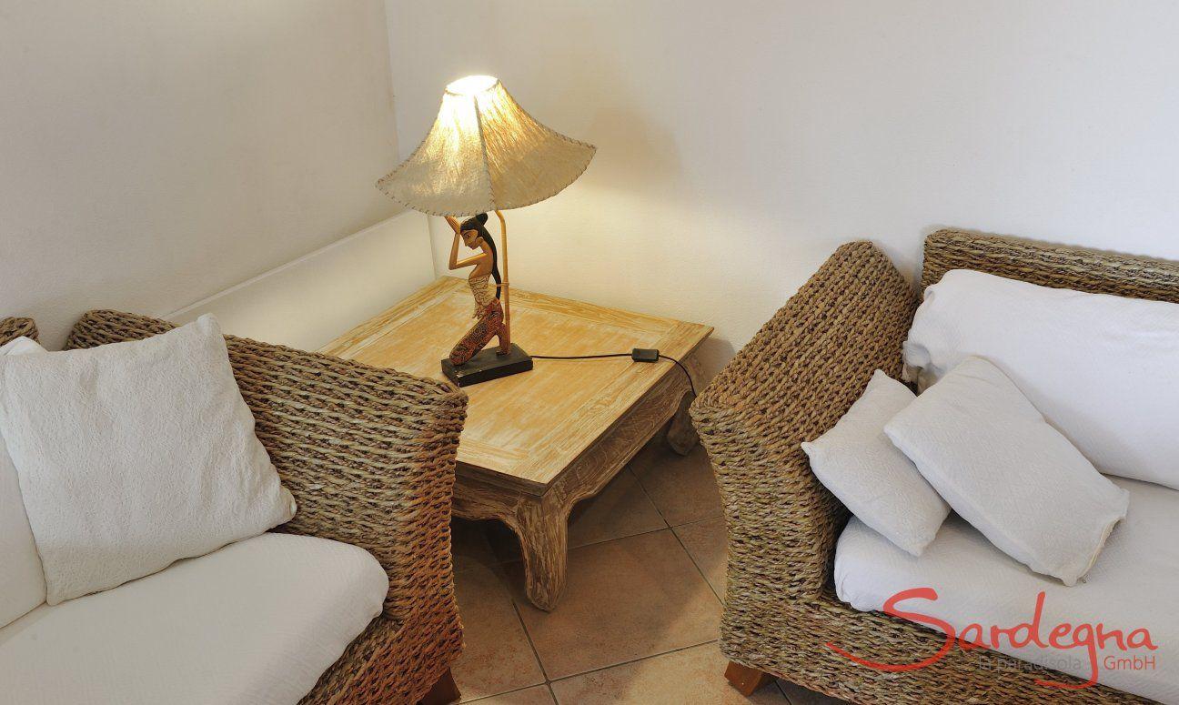Sofa corner, Detail