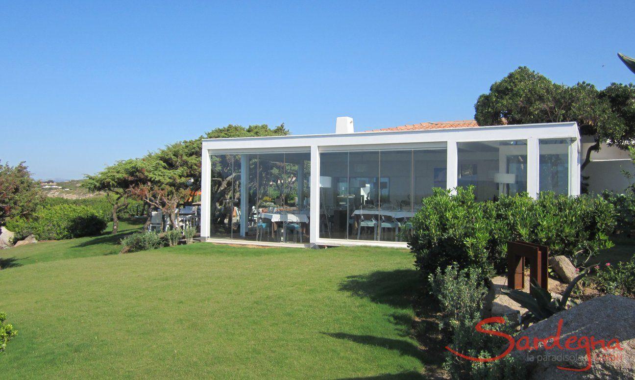 Restaurant in Portobello with panoramic windows with sea view