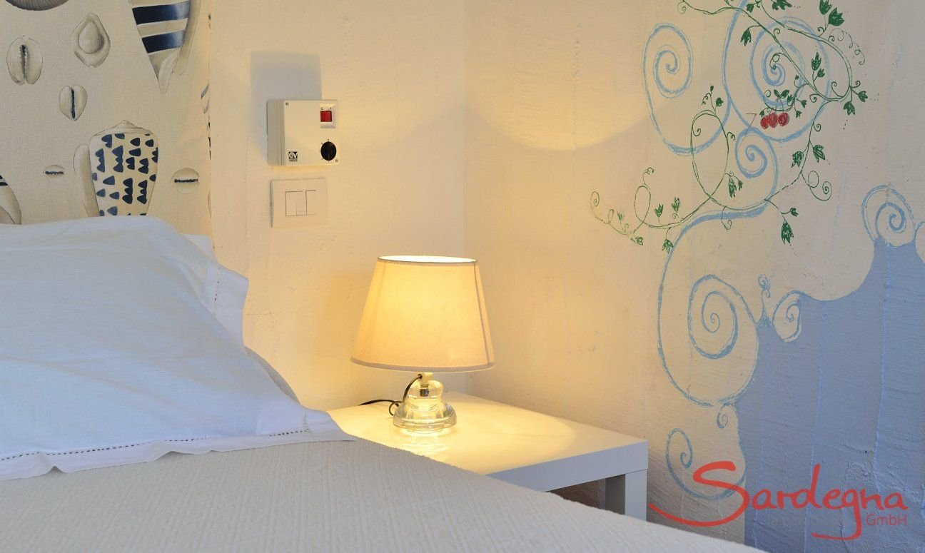 Bedroom with double bed  Casa 20, Sant Elmo