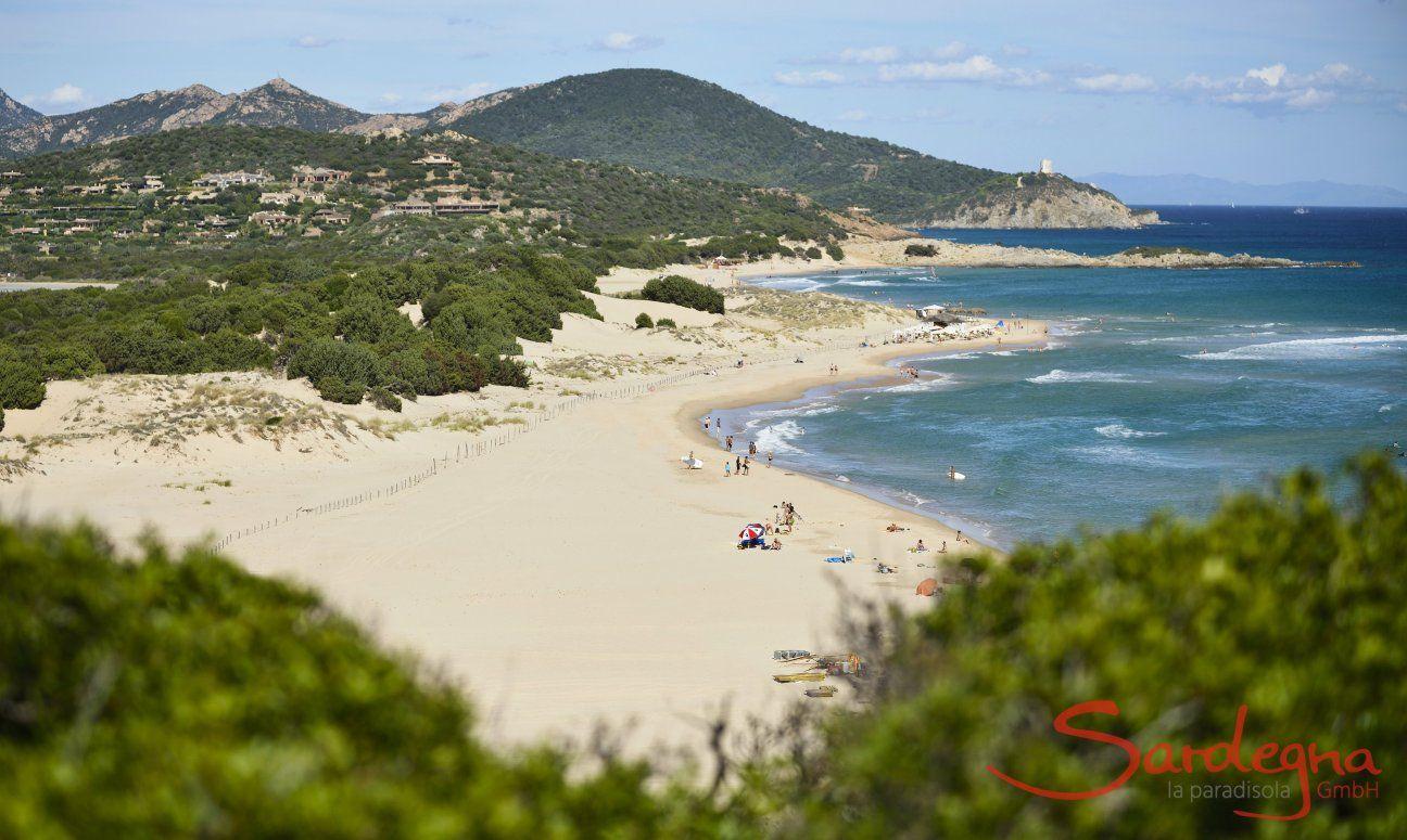 Beach of Chia, only 10 km. away