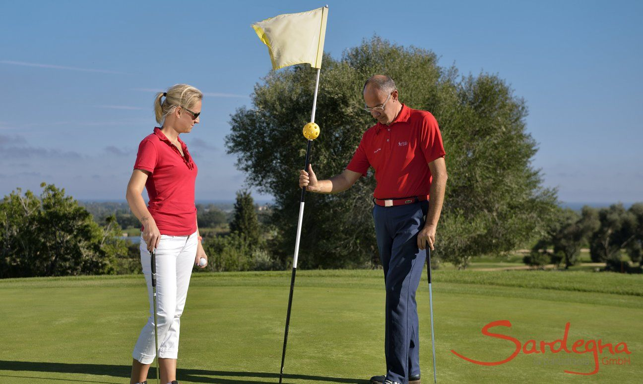 Golfcourse Is Molas with 27 holes, close to Pula