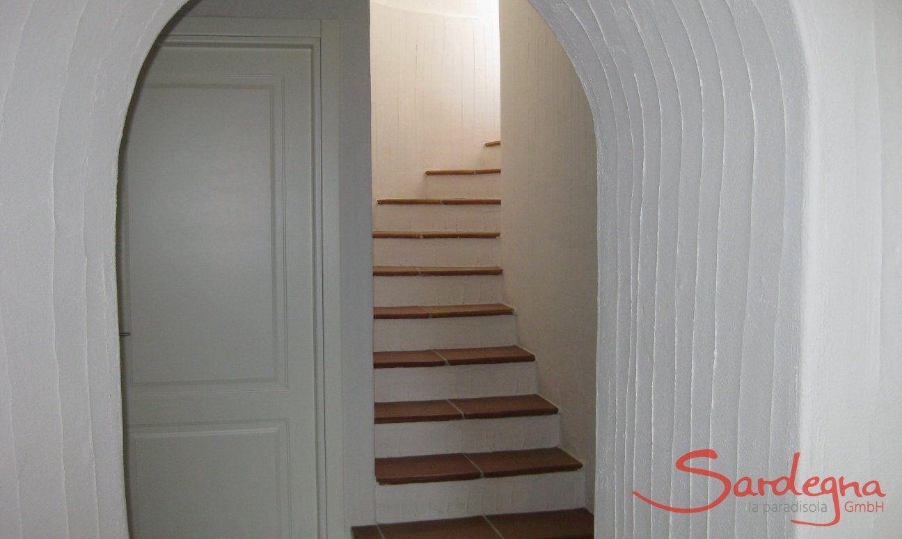 Staircase to the UG
