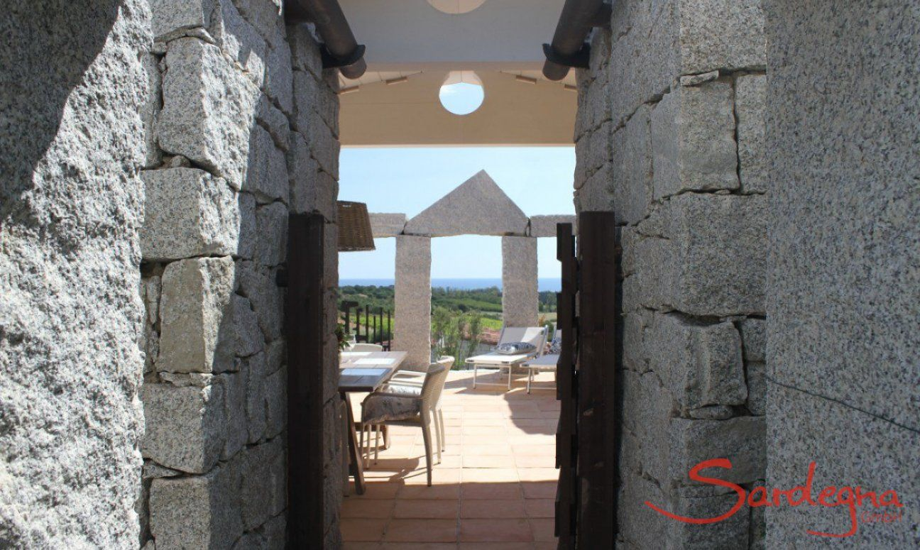 View into the Patio