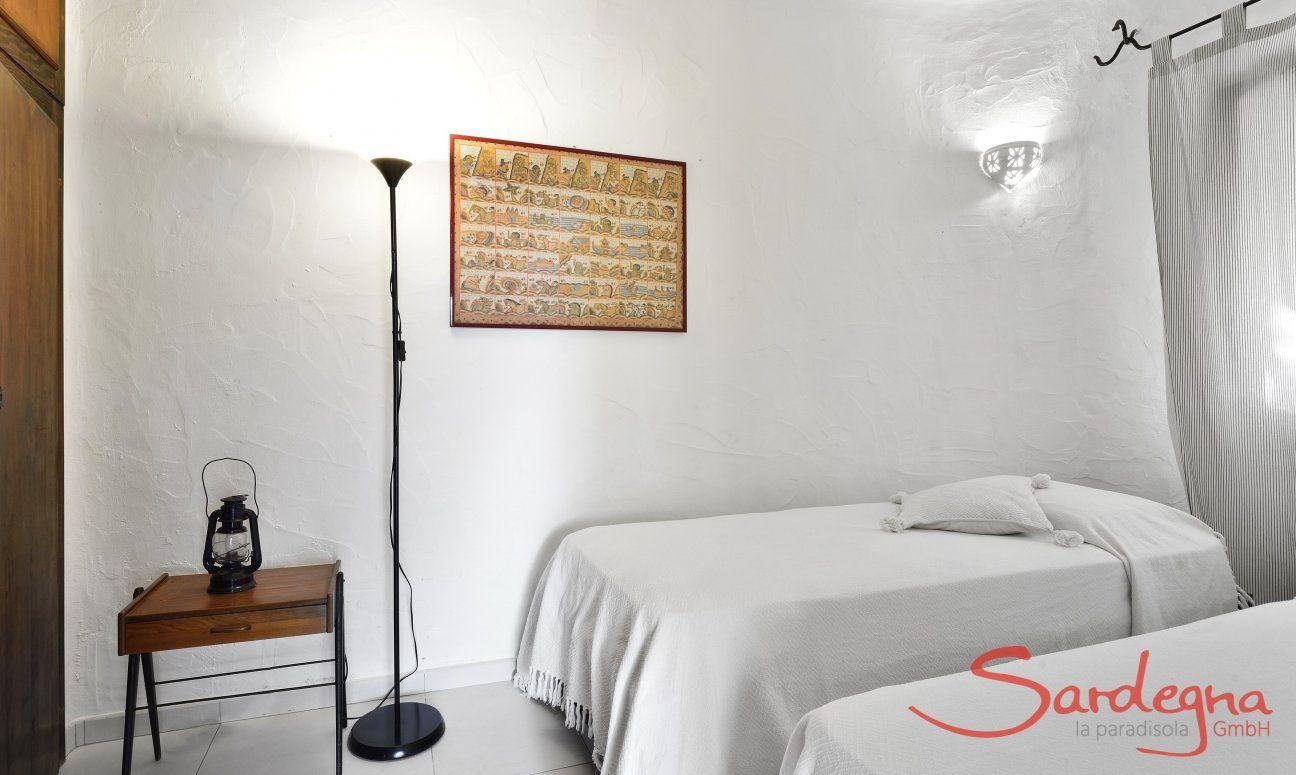 Bedroom 2 ground floor with single beds