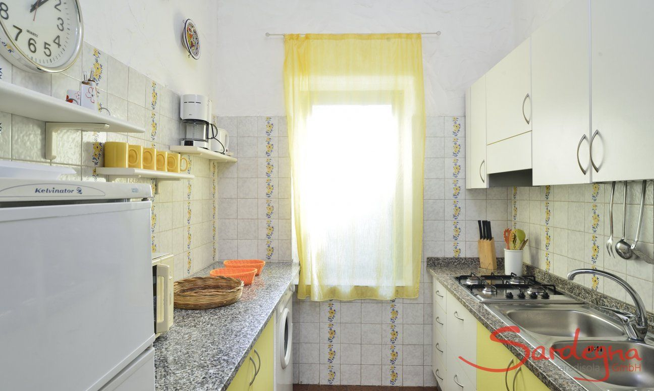 Fully equipped kitchen with all essential devices  Villa Serena, Costa Rei