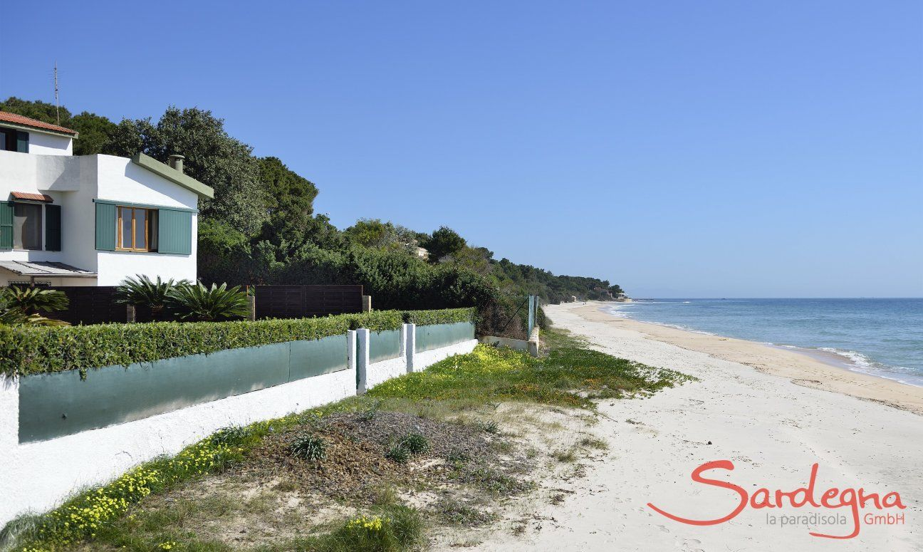 Villa Fernando, perfectly located in front of the beach