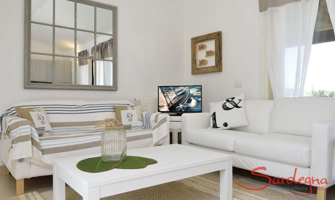 Sofa corner of  Villa Campidano 20
