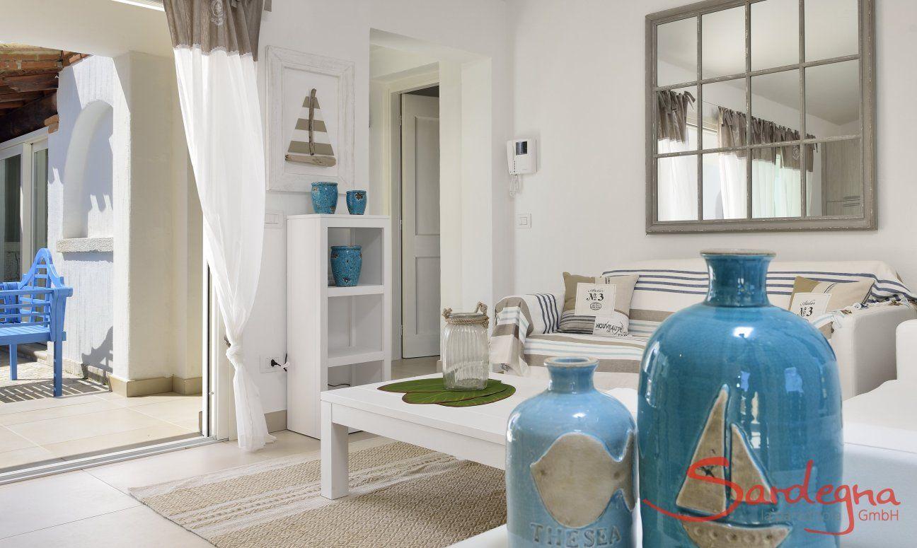 Living room of  Villa Campidano 20
