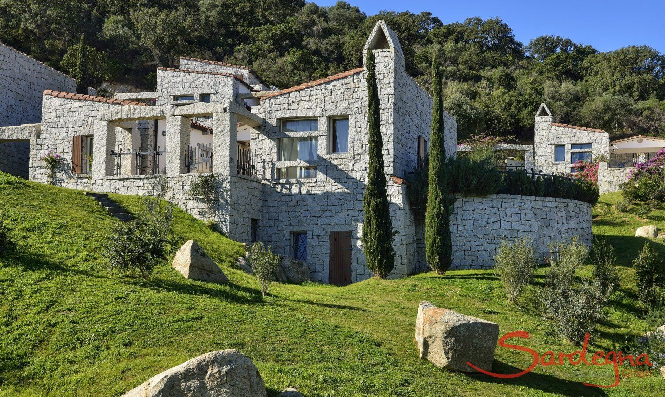 View of the holiday home Li Conchi 9, Cala Sinzias