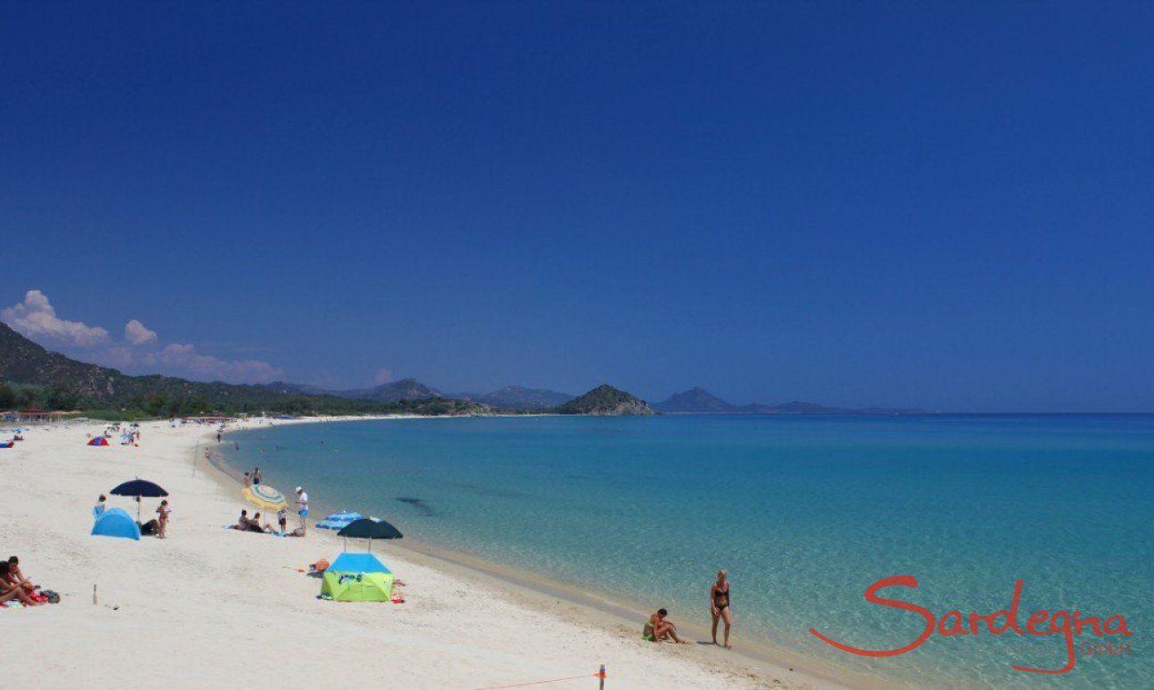 Beach of Cala Sinzias
