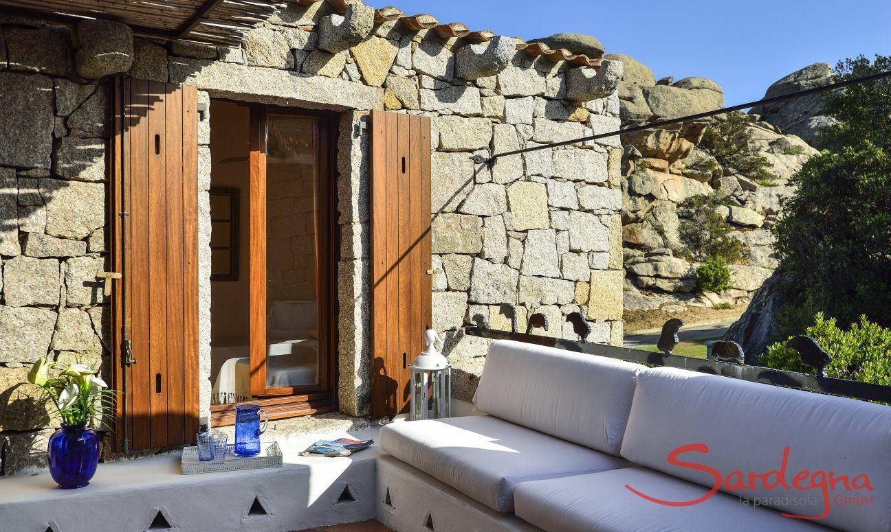 Lounge area in Costa Smeralda style
