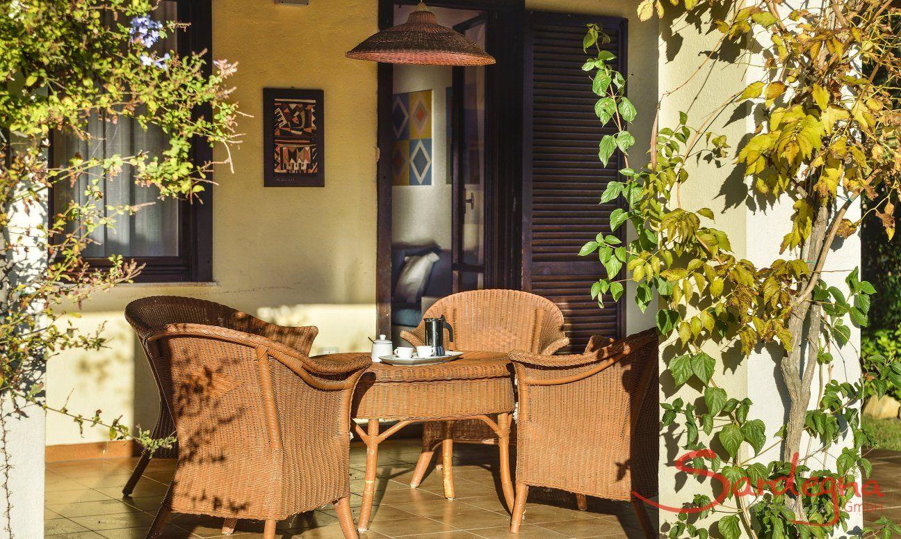Sunfilled terrace