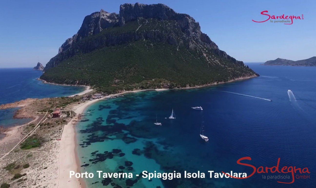 Video Beach Isola Tavolara