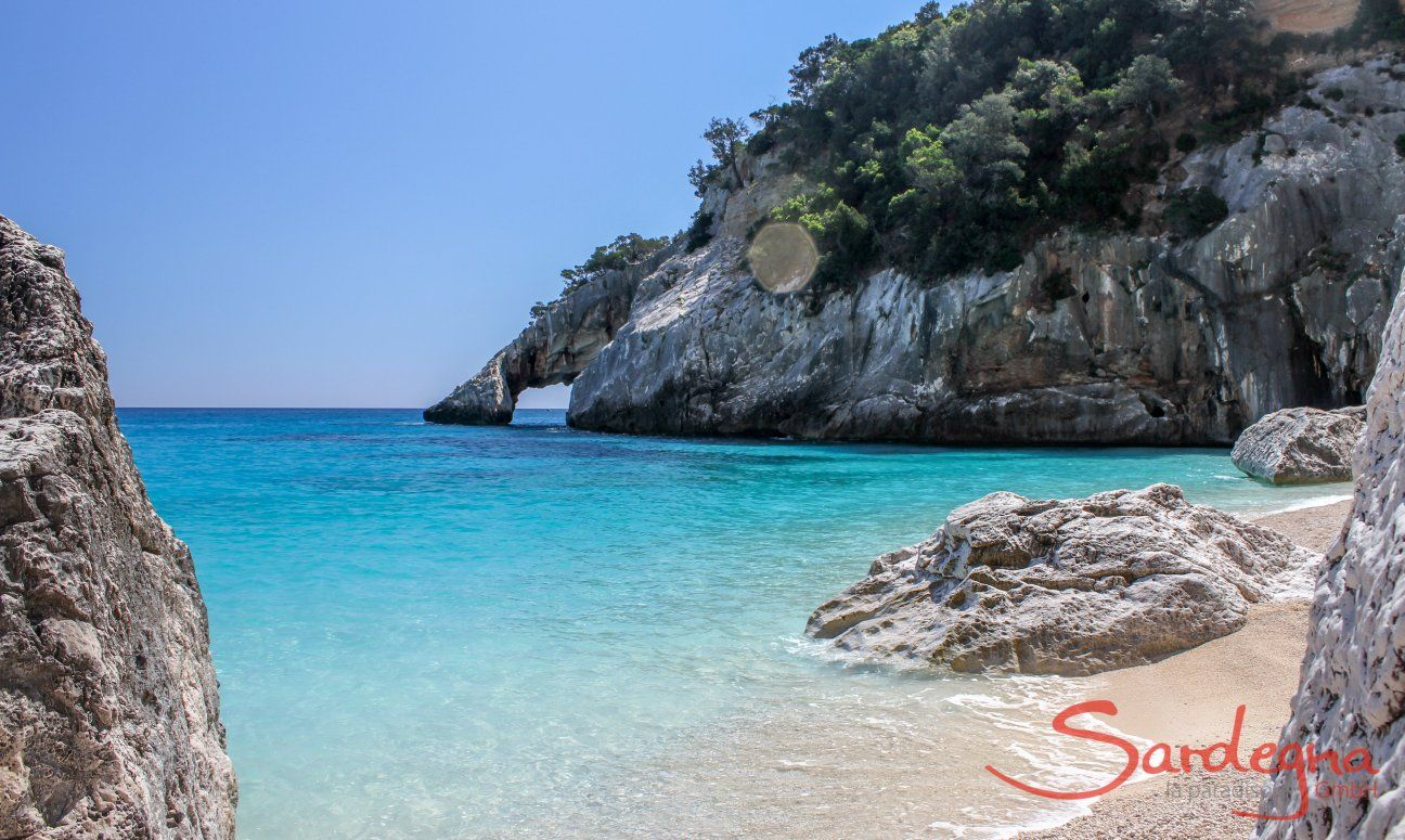 Incredible colours of the sea, rocks and nature of the beach of Cala Goloritze