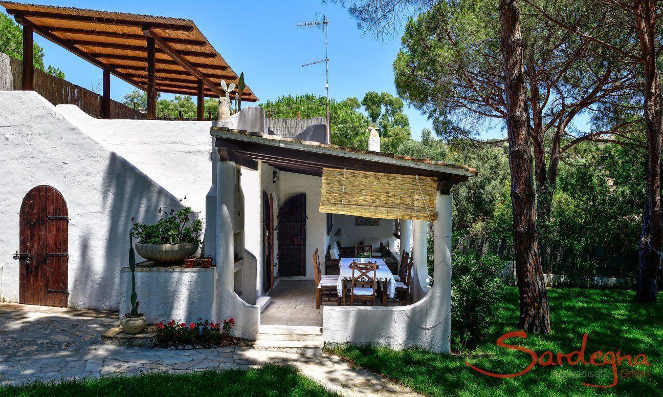 Terrace, roof terrace and garden