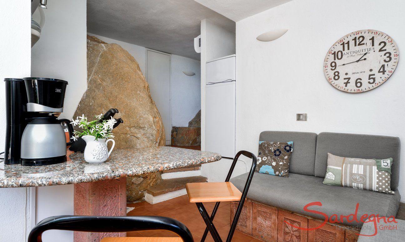 Bar made of granite