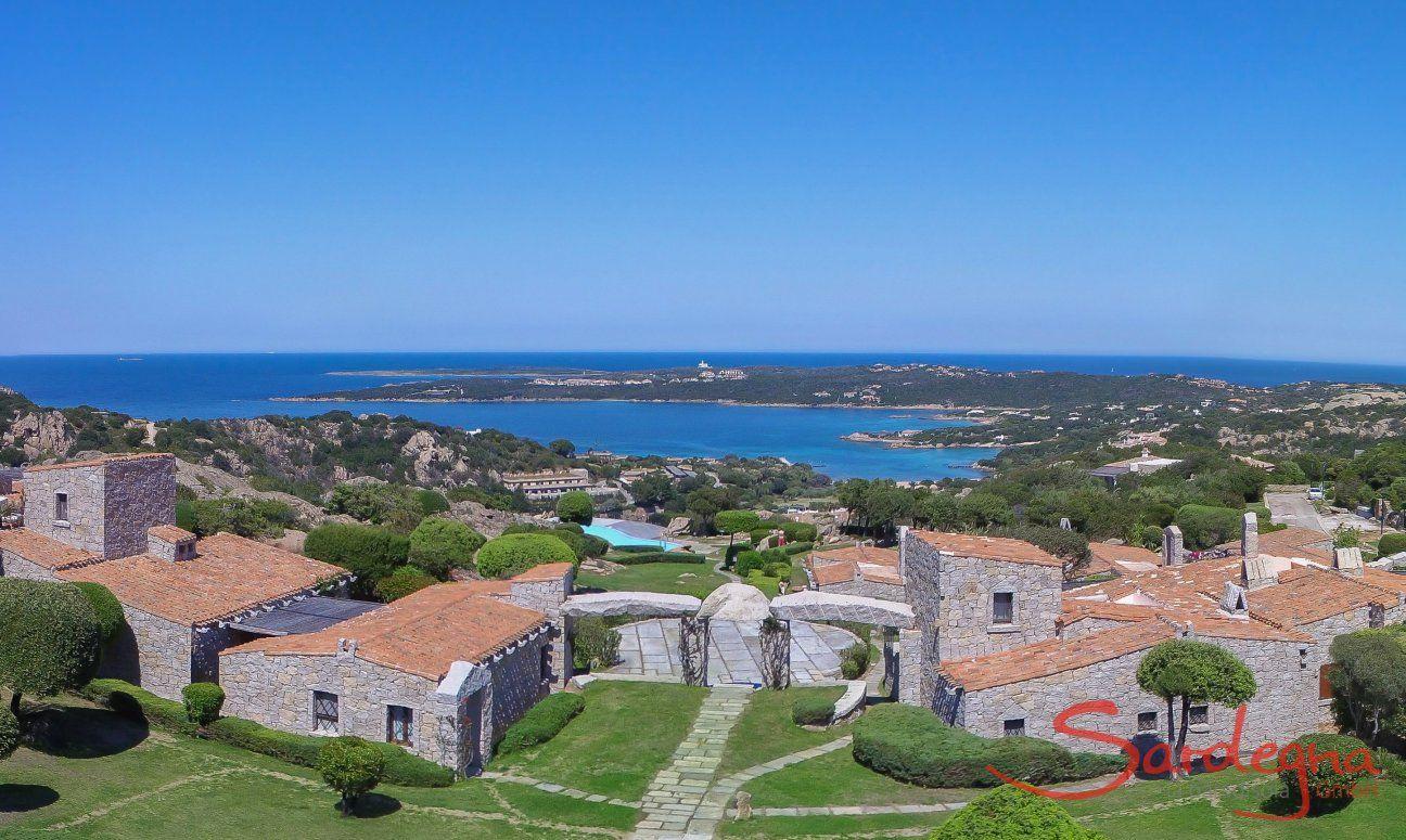 Complex Domus de Pitrizza wtih Pool and Seaview