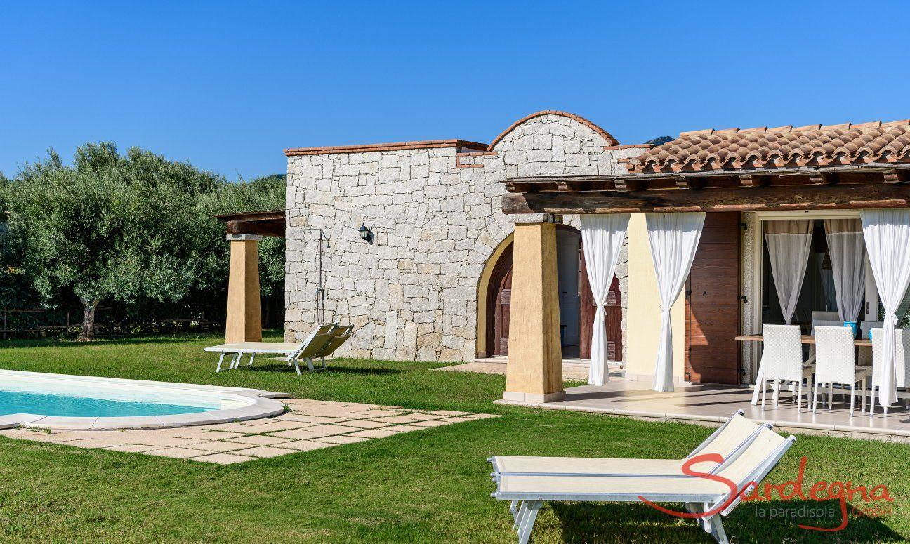 Villa Campidano 20 with garden and pool
