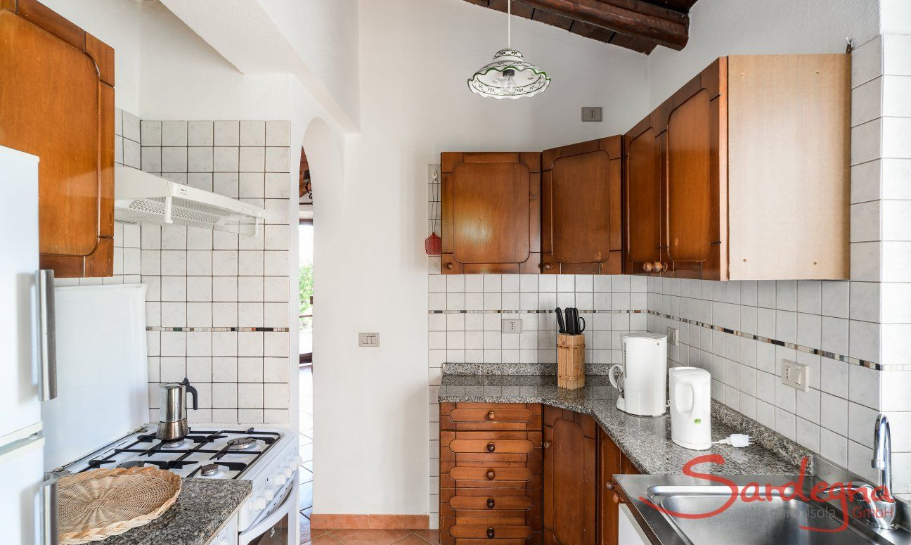 Fully equipped kitchen with all essential devices