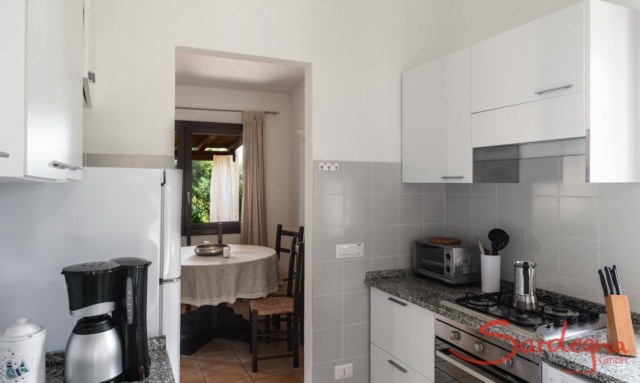 Kitchen with all essential devices