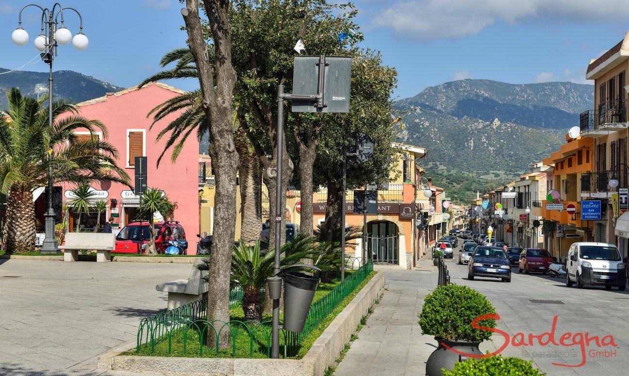Town of Villasimius, short stroll from Villa Liliana