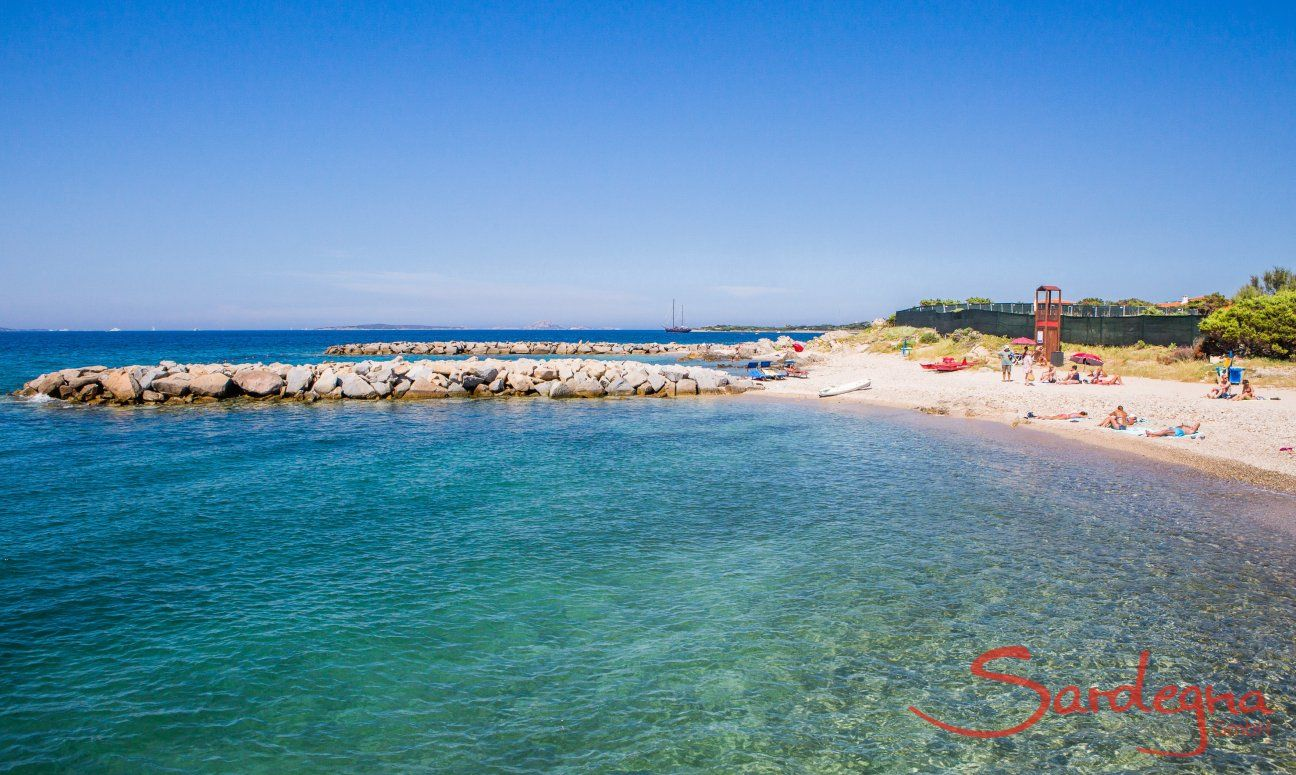 Spiaggia Ira close to Porto Rotondo, about 2.5 miles from Villa Oleandro