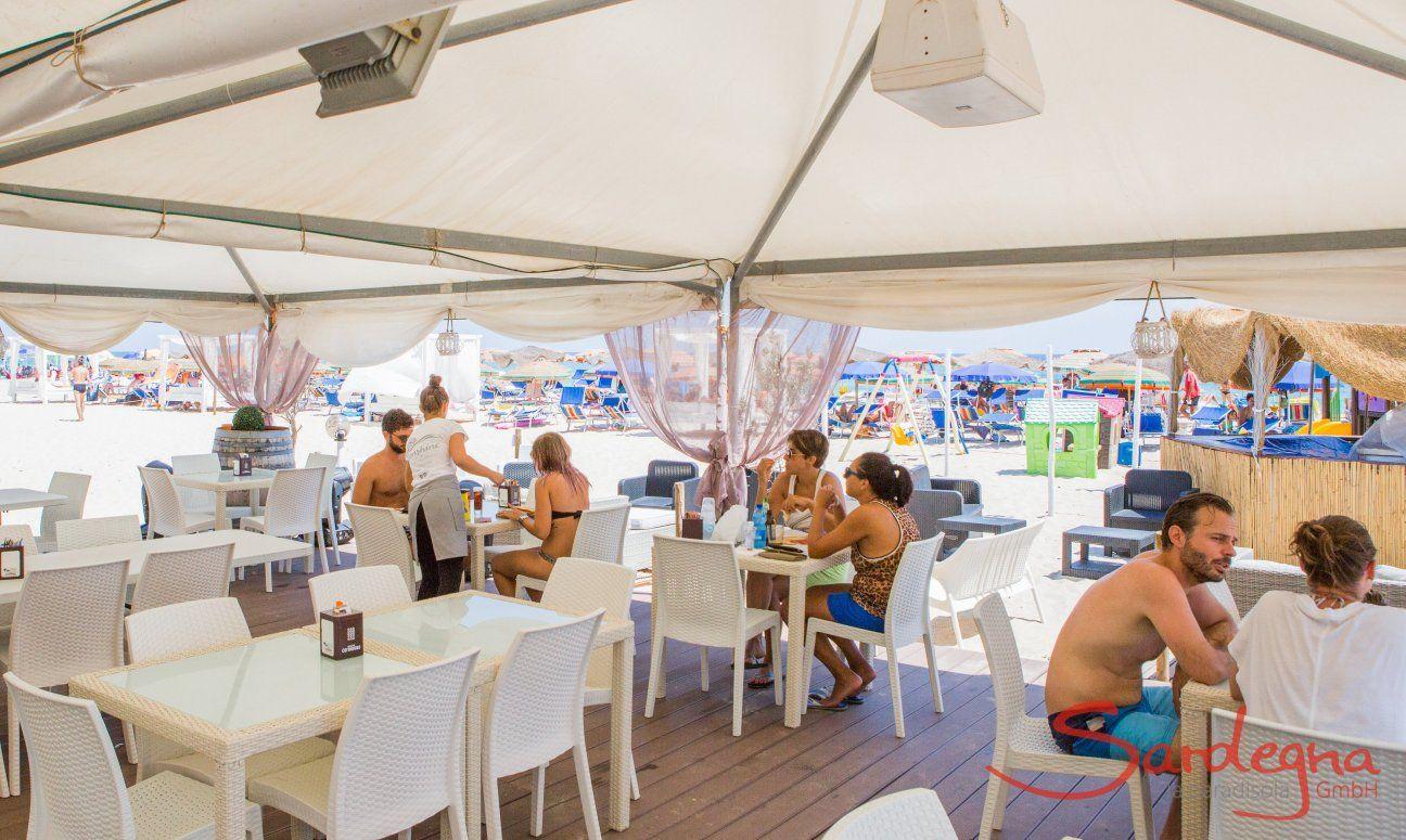 Beachrestaurant in Costa Rei