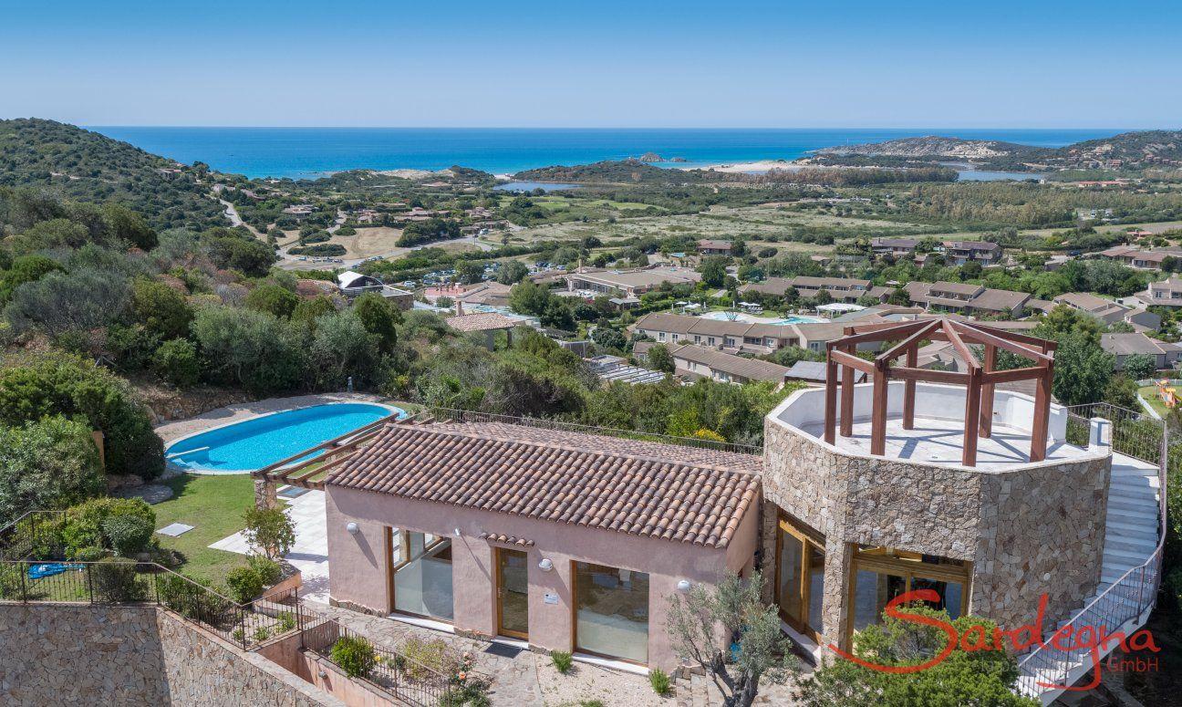 Airview of Torretta Chia