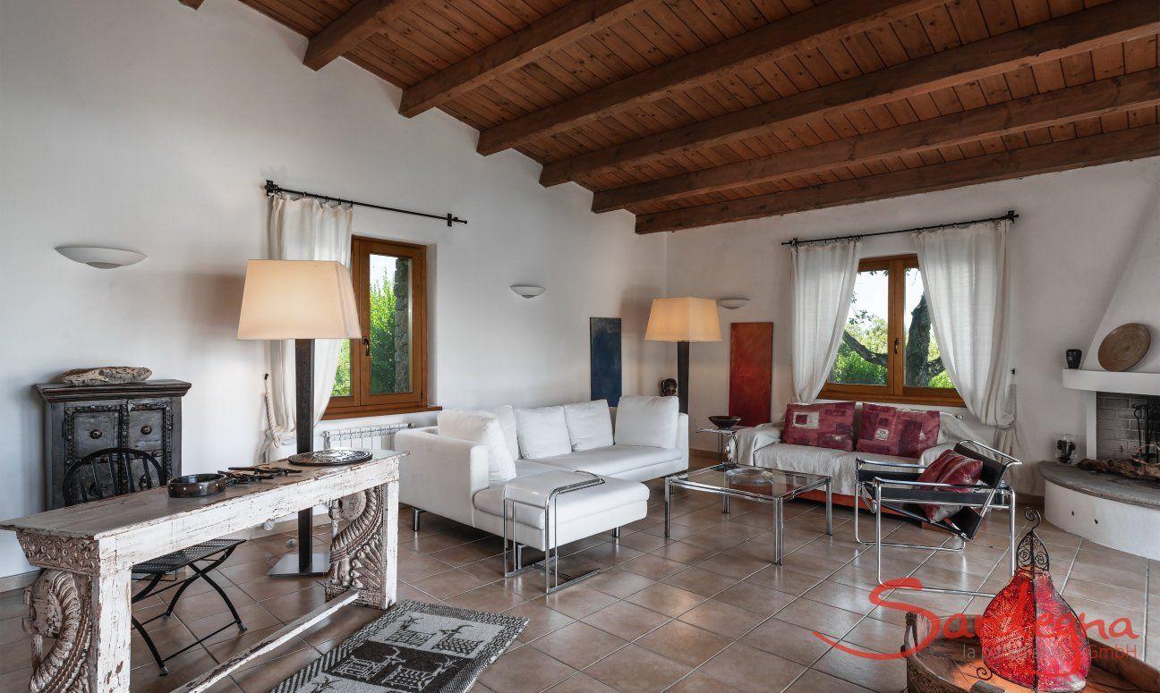 Villa Su Tauloni, Is Molas, South Sardinia