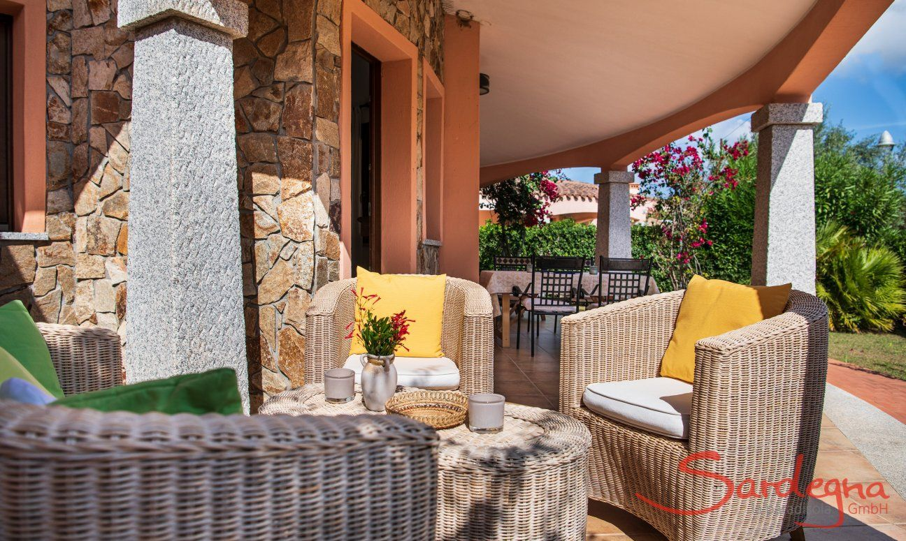 Outdoor with garden and terrace