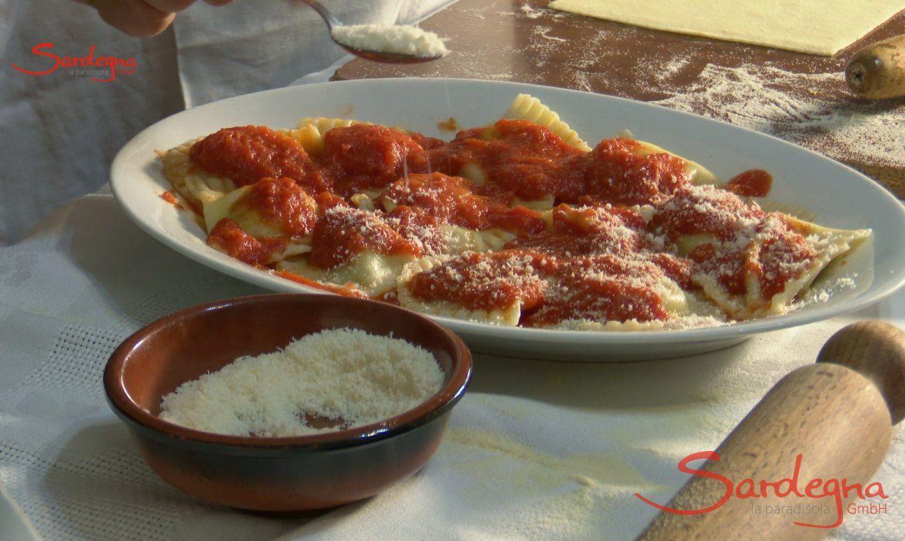 Sardinian ravioli