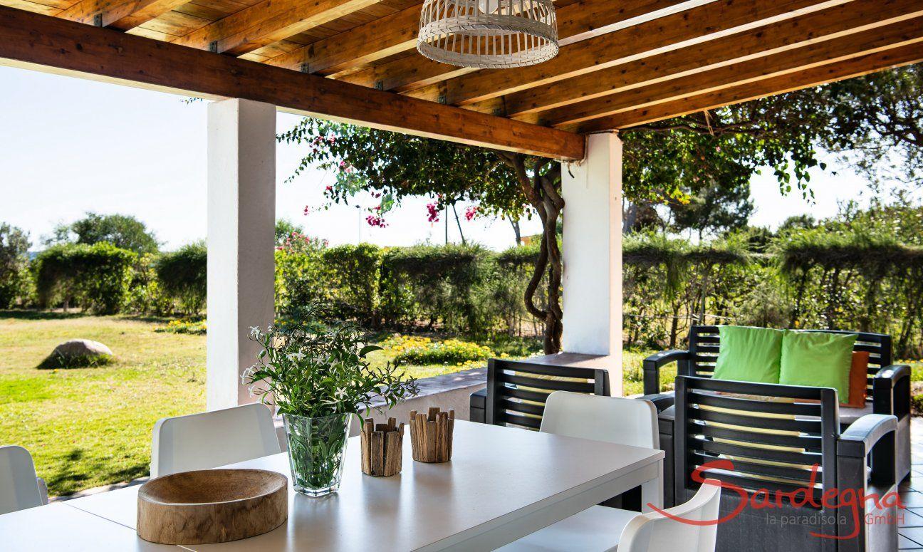 Outdoor dining table Villetta Fabio Costa Rei