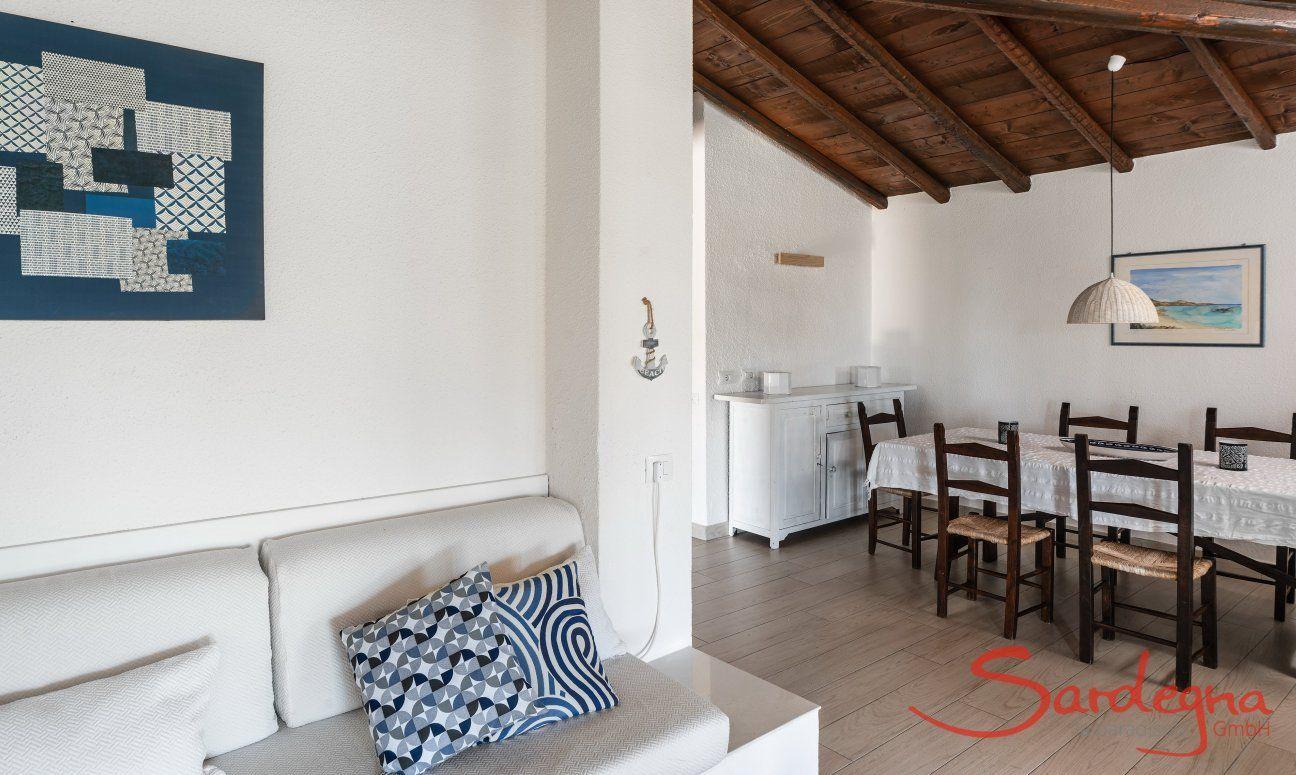 Living and dining room Villetta Fabio Costa Rei