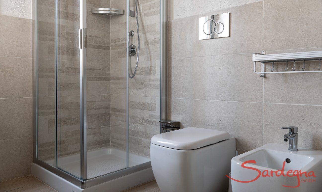 Shower room Villetta Fabio Costa Rei