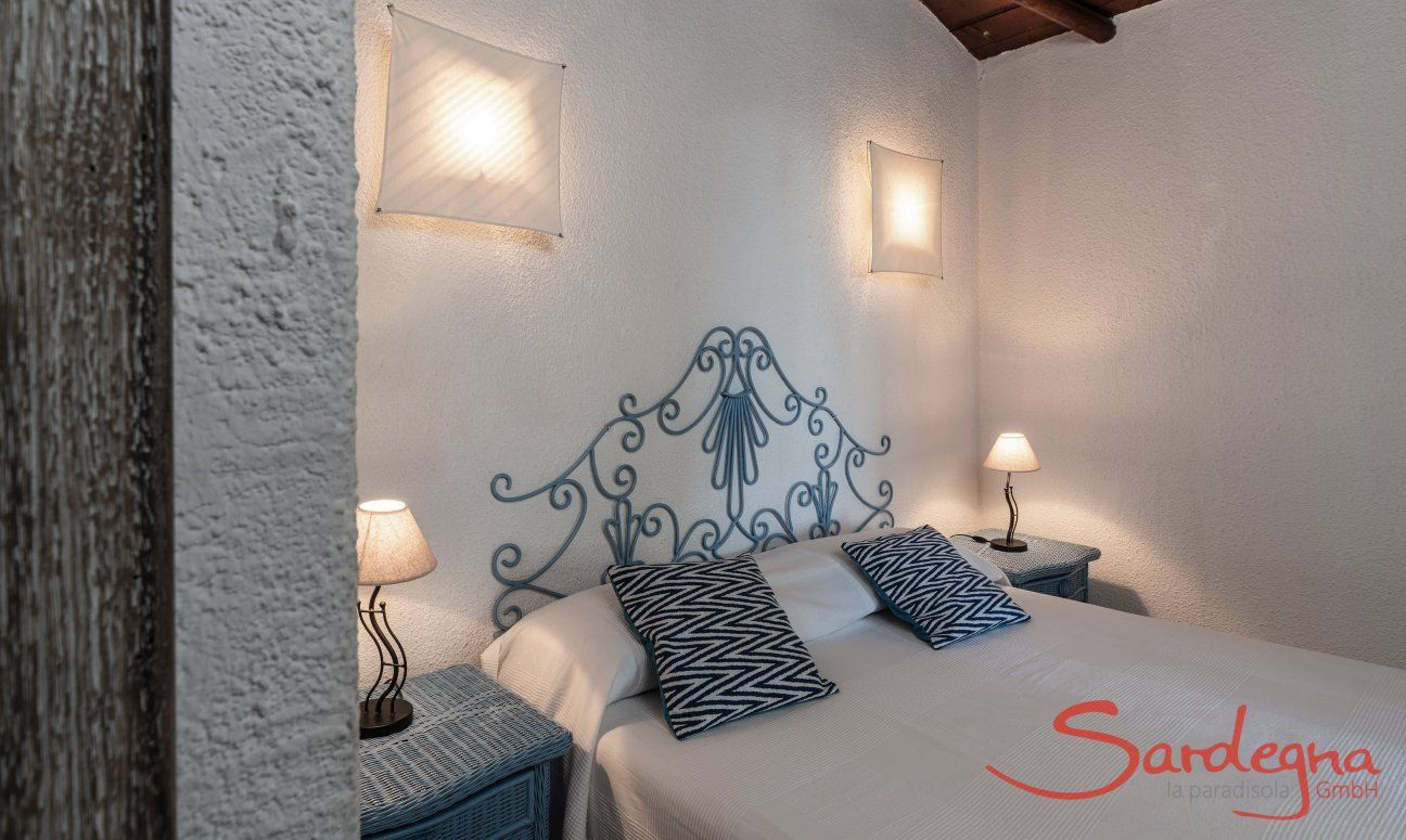 Double bedroom Villetta Quattro Costa Rei