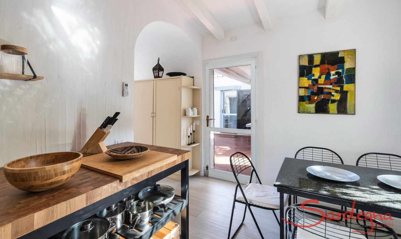Kitchen an details Casa 1 Sant'Elmo