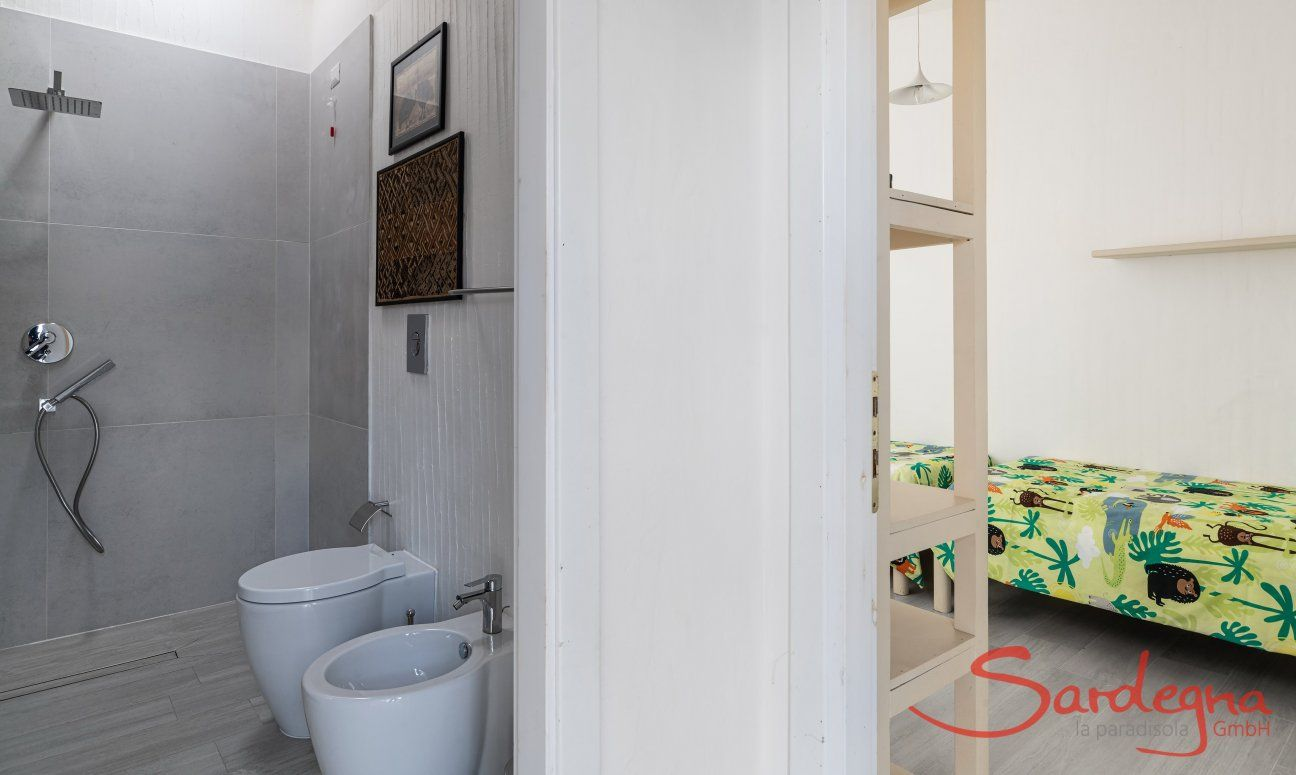 Bathroom and room Casa 1 Sant'Elmo