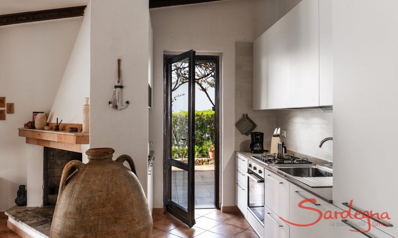 Kitchen Villa Viola , Costa Rei