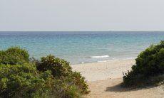 1.8 miles long beach of Santa Margherit in Pula
