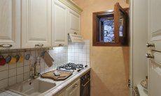 White, small kitchen