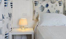 Bedroom with sea stile docoration Casa 20, Sant Elmo