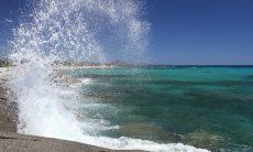 Beach and sea Sant Elmo