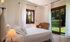 Bedroom 1 with garden access